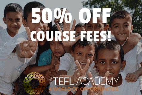 International TEFL Academy banner