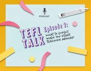 Launching our brand-new podcast, TEFL TALK!