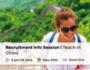 Next Recruitment Info Session | Teach in China