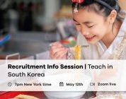 Next Recruitment Webinar: Teach in South Korea | Paid TEFL Internship